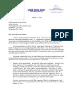 Rubio Letter to Pekoske