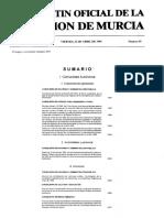 Decreto 15 1995 Reserva Marina Cabo de Palos