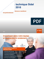 Sidel Techical Training Catalogue 2016 Fr