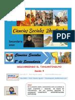 Semana 10 - Ciencias Sociales - 2º Sec. - Imperio del Tahuantinsuyo (1)