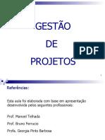 Gestão de Projetos  - apontamentos