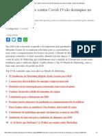 Tendências e Ações Contra Covid-19 São Destaques No Portal Em 2020 - Mundo Do Marketing