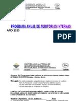 PROGRAMA ANUAL Aud Int. 2020
