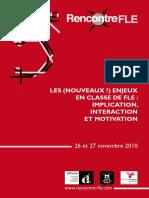 Rencontre FLE 2010-Presentations