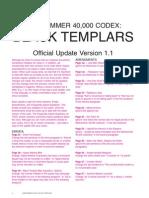 Black Templars FAQ 1.1