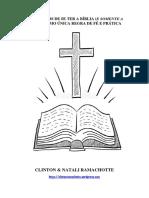 04 Benefícios de Se Ter a Bíblia (e Somente a Bíblia) Como Única Regra de Fé e Prática - Clinton & Natali Ramachotte