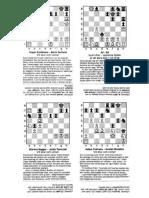 Schackproblem / Chess Puzzles