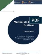 Manual de Boas Práticas para Participantes