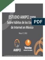 2010 Habitos Usuarios Internet Mx