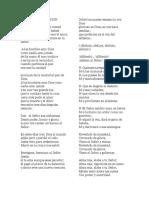 8.3 Canto de Comunion Ensalada (Letra)