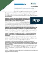 Estado Dispos Infraestructura Crítica TI Oct2020