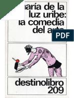La Comedia del Arte M L Uribe (ampliado)