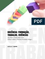 2018 Docencia Formacao Trabalho Vivencias