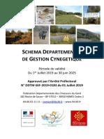 SCHEMA DEPARTEMENTAL DE GESTION CYNEGETIQUE