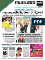 Gazzetta Mantova 17 Luglio 2010