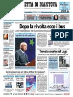 Gazzetta Mantova 18 Settembre 2010