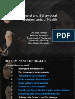 431 Aesha Social and Behavioural Determinants SEP2020