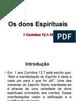 Os Dons Espirituais - parte 2