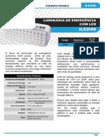 ILUMAC - Luminária de Emergencia - ILED40