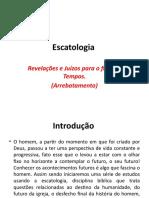 Escatologia - Arrebatamento