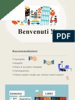 Lezione 1 - Benvenuti _Presentazione (Pronuncia-gramamtica-lessico)
