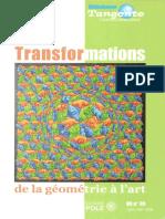 (bibliothèque tangente hors-série n°35) Hervé Lehning, collectif-Les transformations _ de la géométrie à l'art-POLE (2009) (1)