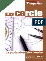 (Bibliothèque Tangente) Collectif-Le Cercle _ La Perfection Faite Courbe-Pole (2009)