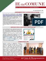 Notizie Dal Comune di Borgomanero del 22-01-2021