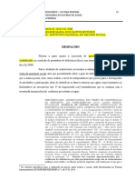 Modelo DESPACHO_Determina PERICIA LC 142.2013