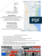 Chicago Map for March for Life Chicago 2021