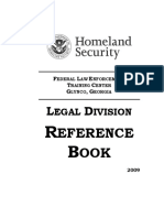 FLETC - Legal Reference Book ('09)