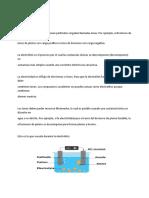 Electrólisis chemistry