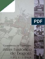 Atlas Historico de Bogota 1911 1948