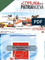 262239213 Ley Organica de Las Comunas Ppt