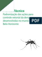 Manual Dengue Padronizacao Acoes Controle Vetorial Dengue BH