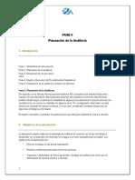 Planeación de La Auditoría Abril 2 2020