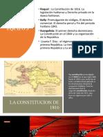 El Primer Derecho Dominicano