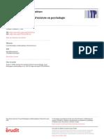 À propos de l'évolution d'Aristote en psychologie - Pe. Stanislas Cantin