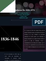 Honduras De 1836-1876