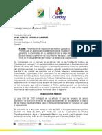 PROYECTO DE EXPOSICIÓN DE MOTIVOS Y ACUERDO MUNICIPAL VINCULACION PDA 2020..