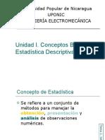 PRESENTACIÓN DE CLASE 1 ESTADISTICA APLICADA