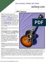 2002 Gibson Super 200