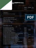 Lista de precios Marpico