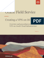 Creating VPN on OCI