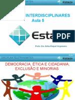 democracia, ética e cidadania