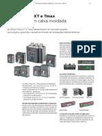 ABB - Catálogo - Disjuntores Caixa Moldada e Aberta