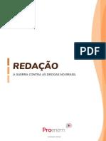 A Guerra contra as drogas no Brasil