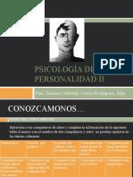 Clase 1-PSICOLOGIA DE LA PERSONALIDAD II