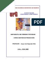 separata PRODUCTIVIDAD - UPG 2020 - 2 FII UNMSM