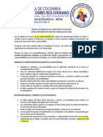 ANEXO AL MANUAL DE CONVIVENCIA ESCOLAR